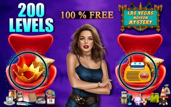 Hidden Object Games 200 Levels : Las Vegas Museum screenshot 9