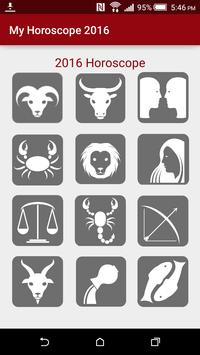 Annual Horoscope of 2016 poster