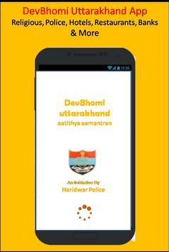 Devbhoomi Uttarakhand App poster