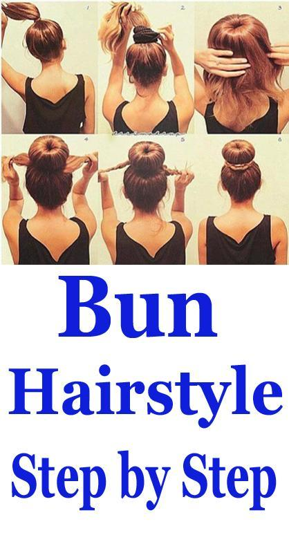 Bun Hairstyles Step By Step App Videos For Android Apk Download