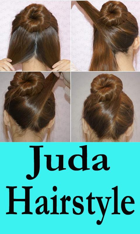 Juda Hairstyle Step By Step App Videos For Android Apk