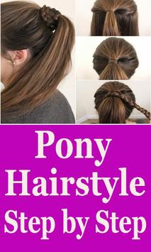 Ponytail Hairstyle Step By Step Videos screenshot 1