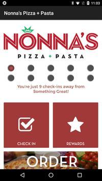 Nonna's Pizza + Pasta poster