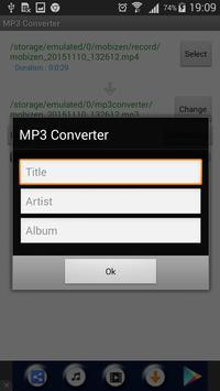 video mp3 converter apk screenshot