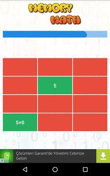 Hafıza Matematik screenshot 1