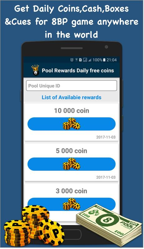 Pool Rewards Daily free Coins for Android - APK Download