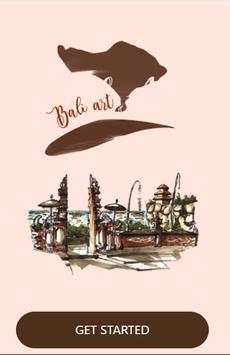 BALI ART poster