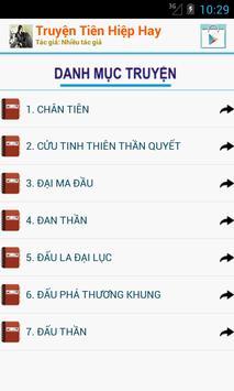 Truyện Tiên Hiệp Hay Nhất - Offline screenshot 1