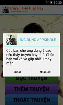 Truyện Tiên Hiệp Hay Nhất - Offline screenshot 4
