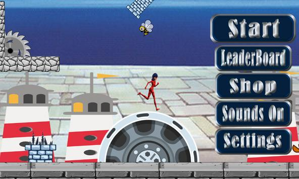 LadyBug Beach Mario Adventures poster