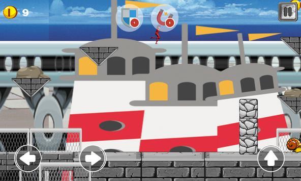 LadyBug Beach Mario Adventures apk screenshot