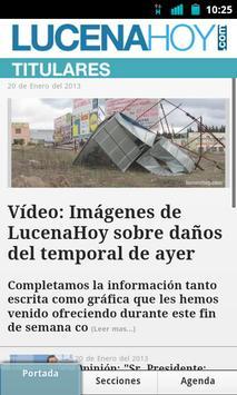 LucenaHoy apk screenshot