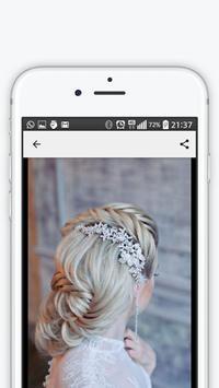Wedding hairstyles 2018 apk screenshot