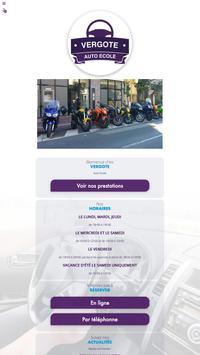 Auto école Vergote poster