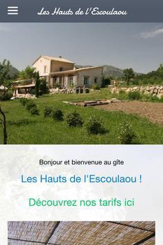 Les Hauts de l'Escoulaou apk screenshot