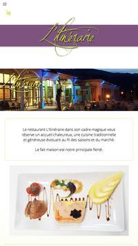Restaurant l'Itinéraire apk screenshot