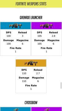 Weapons Stats For Fortnite скриншот 2