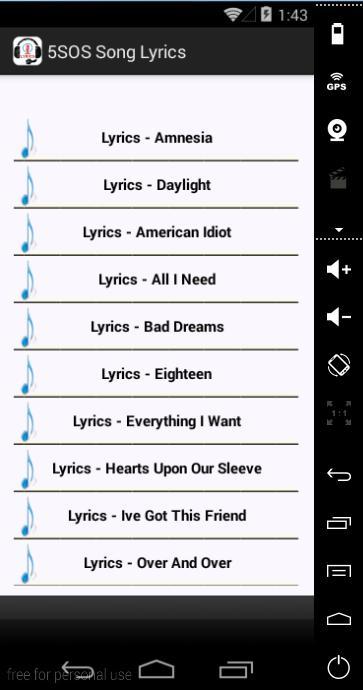 Amnesia 5SOS Lyrics for Android - APK Download