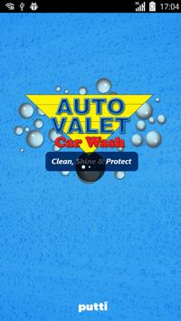 Auto Valet Car wash poster