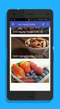 Anti Aging Foods screenshot 2