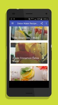 Detox Water Drink Recipes poster