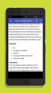 Detox Water Drink Recipes screenshot 2