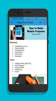 How to Make Mobile Projector screenshot 1