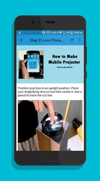How to Make Mobile Projector screenshot 2