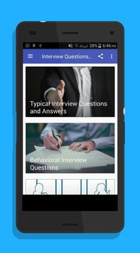 Interview Questions and Answers poster