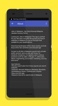 Jobs in Malaysia apk screenshot