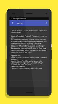 Jobs in Portugal apk screenshot