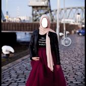 Hijab Girl Fashion Montage icon