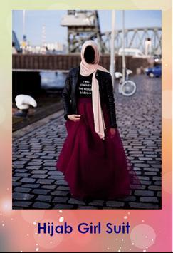 Hijab Girl Fashion Montage poster