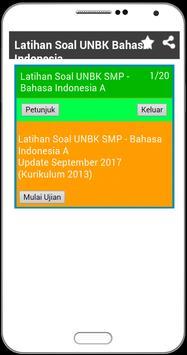 UNBK SMP 2018 Soal Latihan Lengkap dengan Kunci screenshot 4