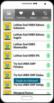 UNBK SMP 2018 Soal Latihan Lengkap dengan Kunci screenshot 12