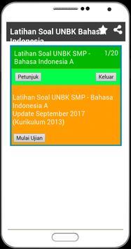 UNBK SMP 2018 Soal Latihan Lengkap dengan Kunci screenshot 3