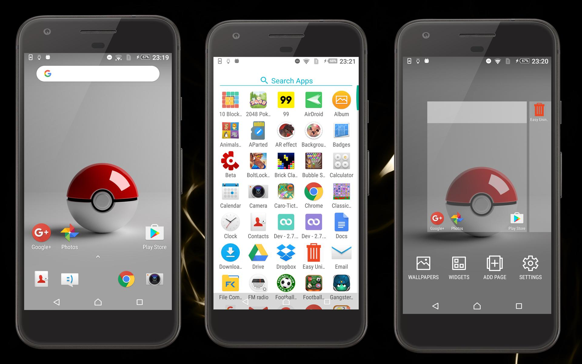 xOs Launcher & Poke WallPaper for Android - APK Download