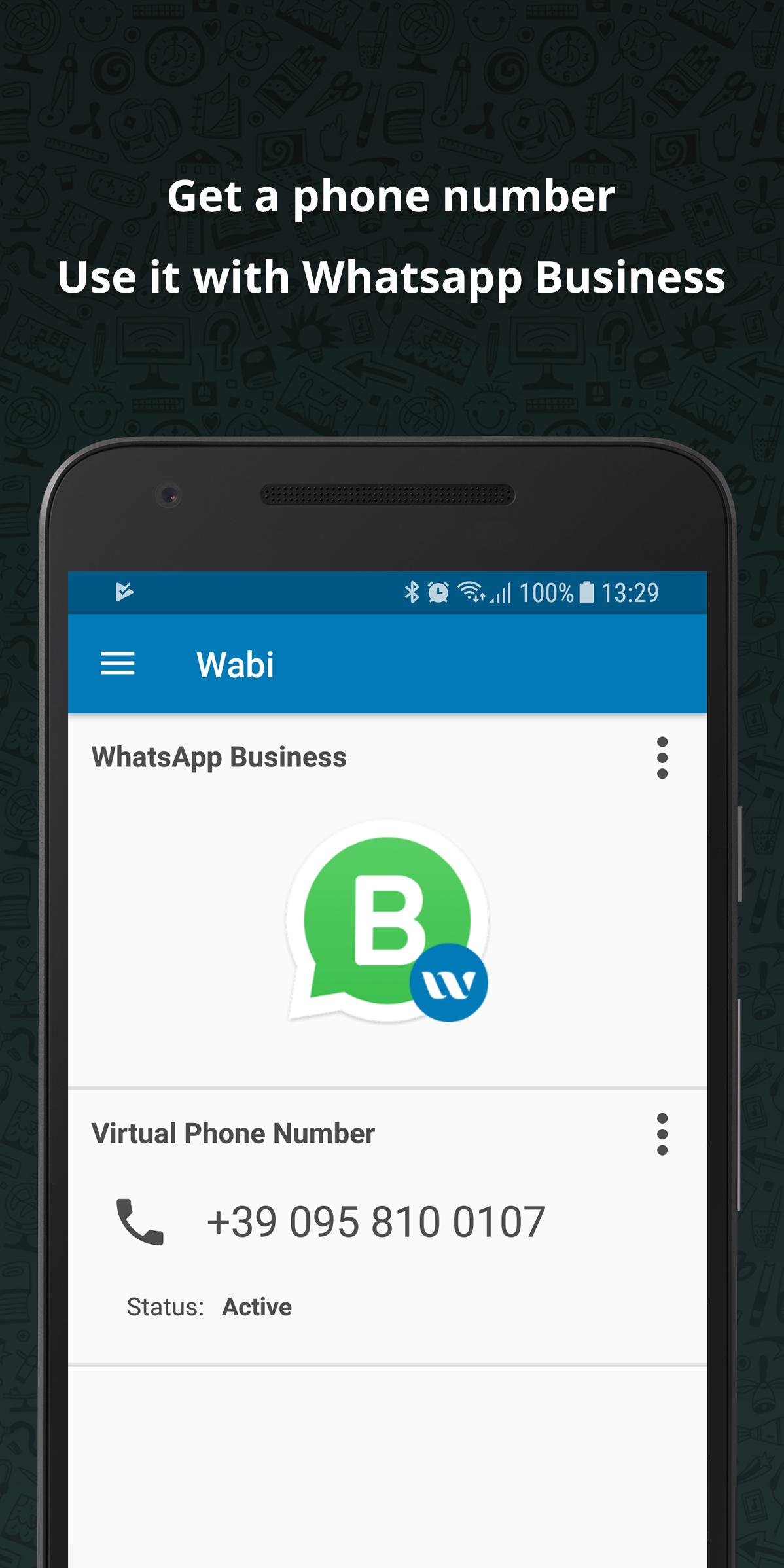Phone Number for WhatsApp Business - Wabi for Android - APK Download