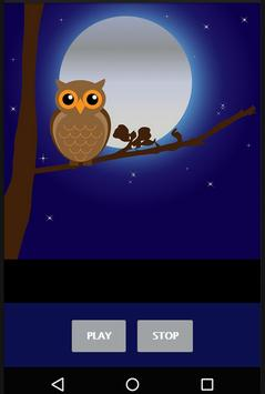 Owls Hooting Sounds screenshot 1