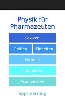 Physik für Pharmazeuten screenshot 1