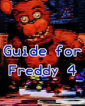 Free Guide For Freddy 4 Full poster
