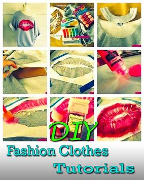 DIY Clothes Ideas Step By Step poster