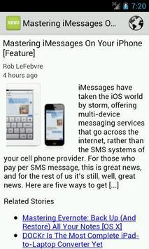 Apple News apk screenshot