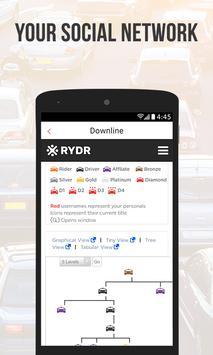 RYDR Driver apk screenshot