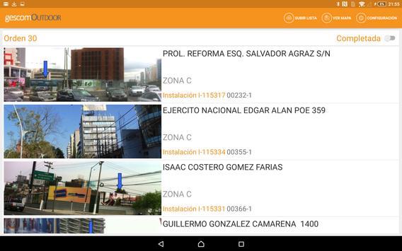 gescomOutdoor apk screenshot