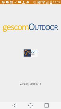 gescomOutdoor poster