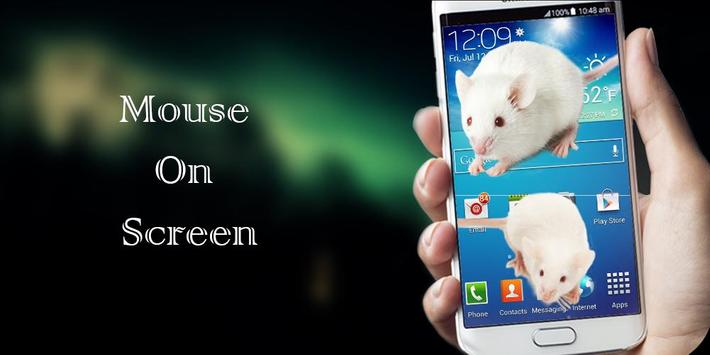 Mouse On Screen Joke Scary poster