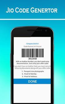 MY JIO Barcode generator Prank screenshot 2