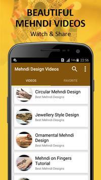 Eid Mehndi Design Videos apk screenshot