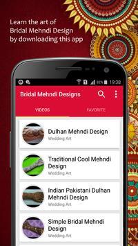 Bridal Mehndi Designs poster